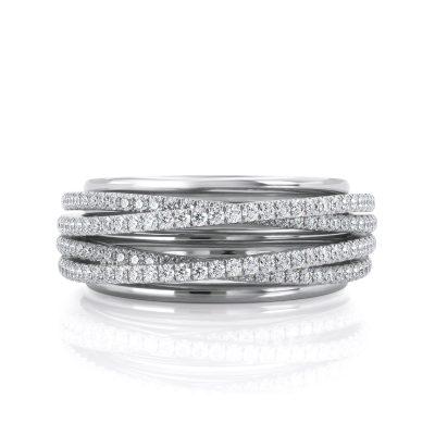 טבעת יהלום סיגל