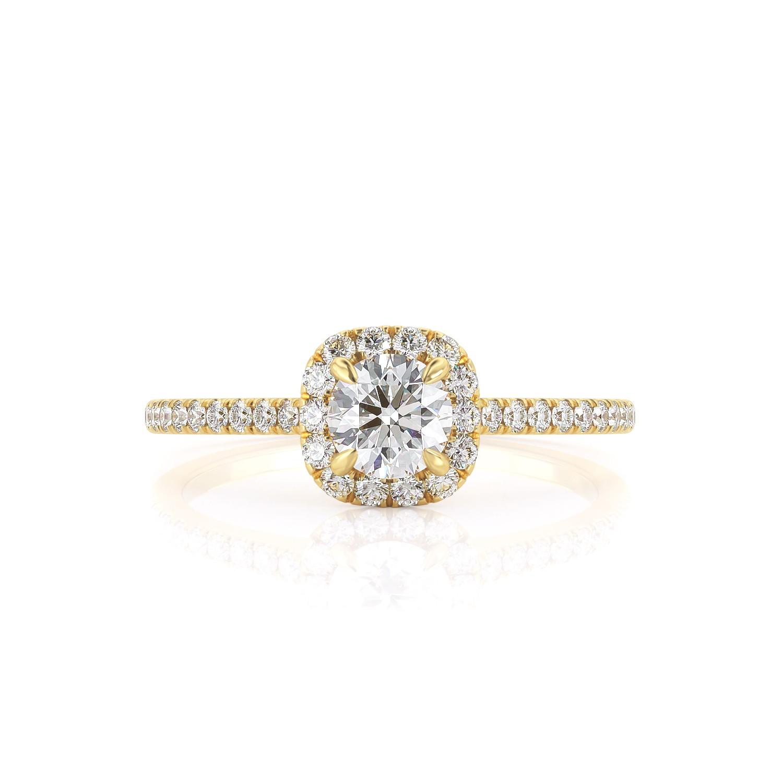 טבעת יהלום ג'יין