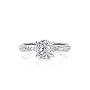 טבעת יהלום | ספיר