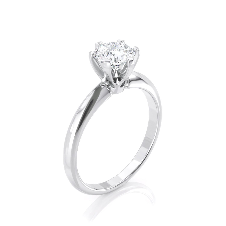 טבעת יהלום סוליטר | טיפאני