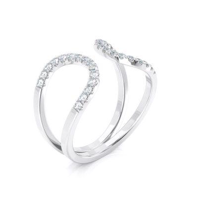Stacking Diamond ring