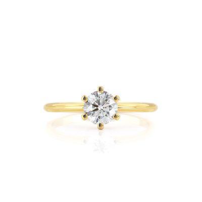 טבעת יהלום נלי