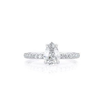 טבעת יהלום טיפה | ליזי