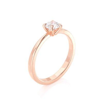 טבעת יהלום סנדי