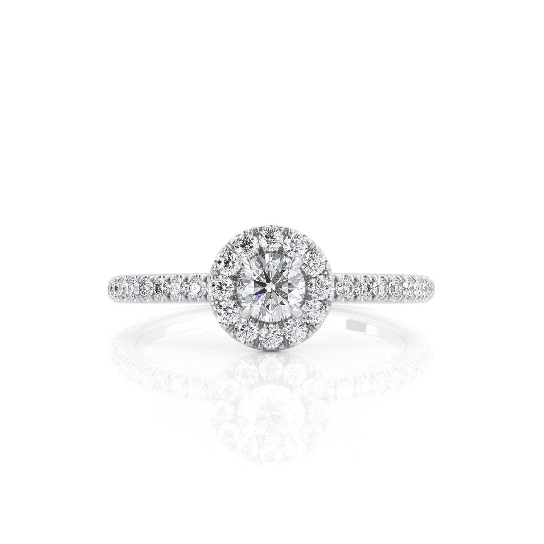 טבעת יהלום ניקול