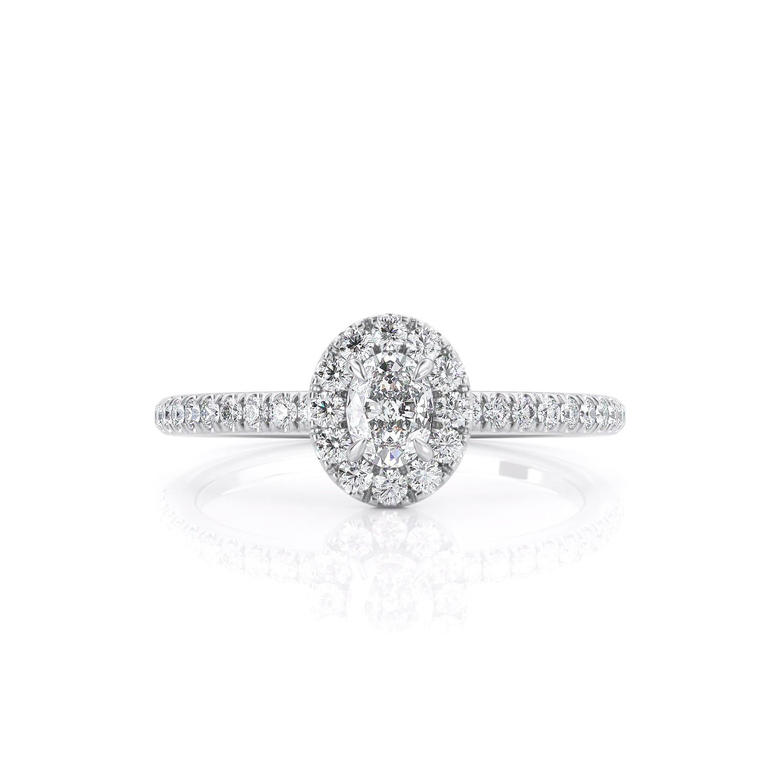 טבעת יהלום שרה