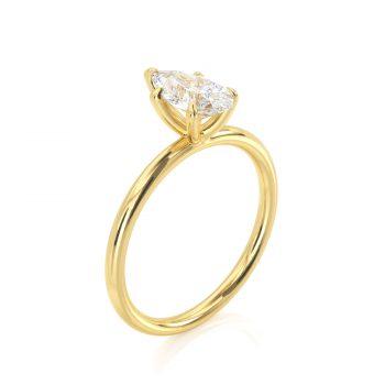 טבעת יהלום מידר