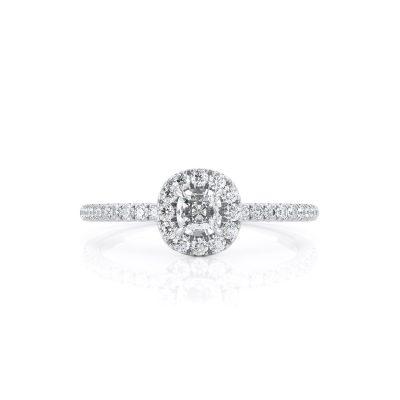 טבעת יהלום עלמה