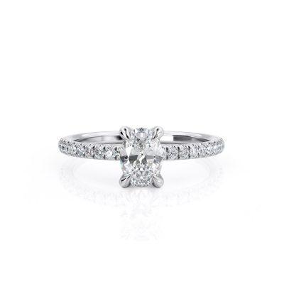 טבעת יהלום אריאל