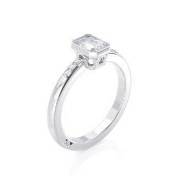 טבעת יהלום אמרלד | דין