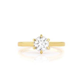 טבעת יהלום רותי