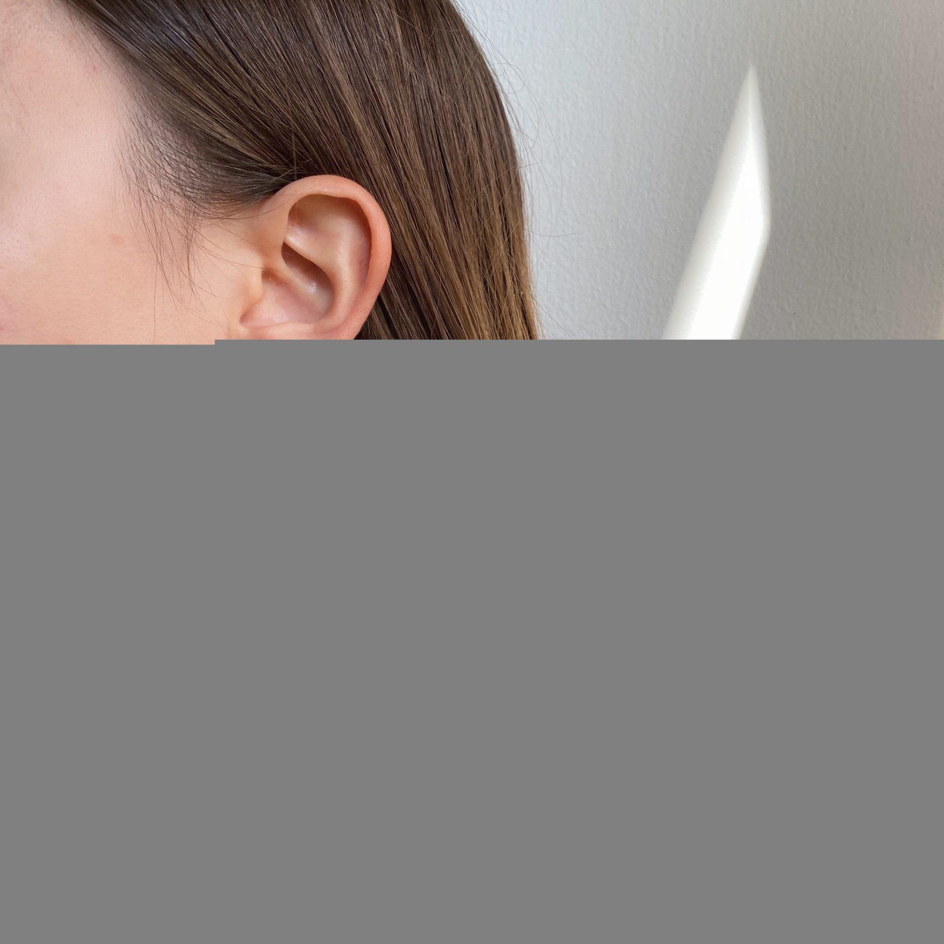 עגילי חישוק יהלום נוי | Gypsy diamond earrings