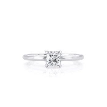 טבעת יהלום בר