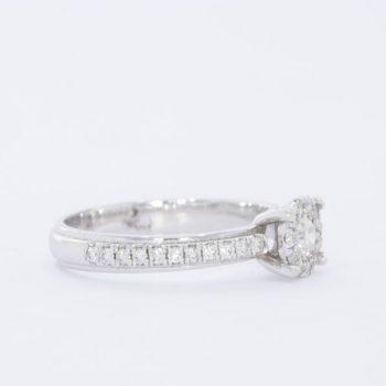 טבעת יהלום ספיר