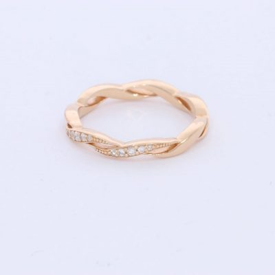 טבעת יהלום מיכל