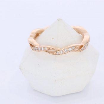 Unique Diamond Eternity ring