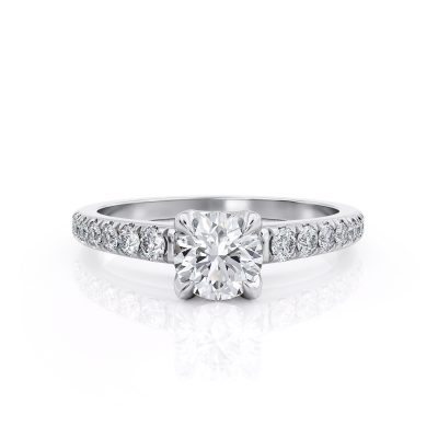 Unique Solitaire Diamond ring