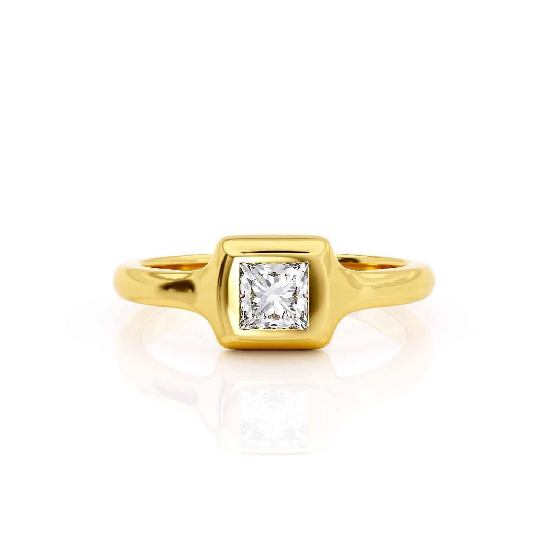 טבעת יהלום דנה