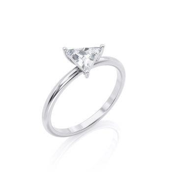 טבעת יהלום לי