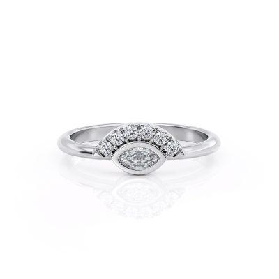 Crown Diamond ring