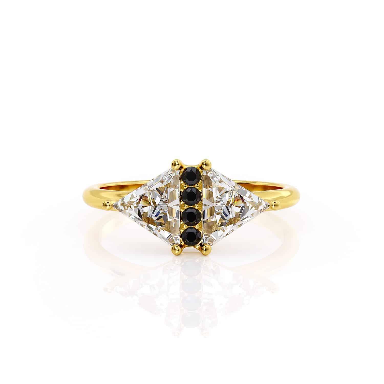 טבעת יהלום הדס