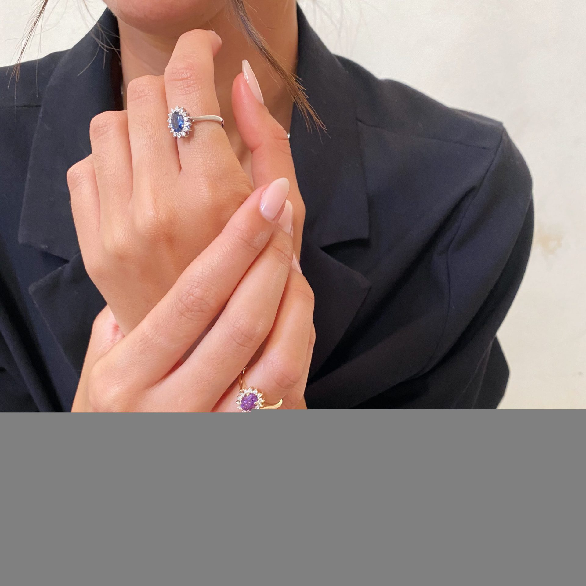 טבעת דיאנה | אמטיסט