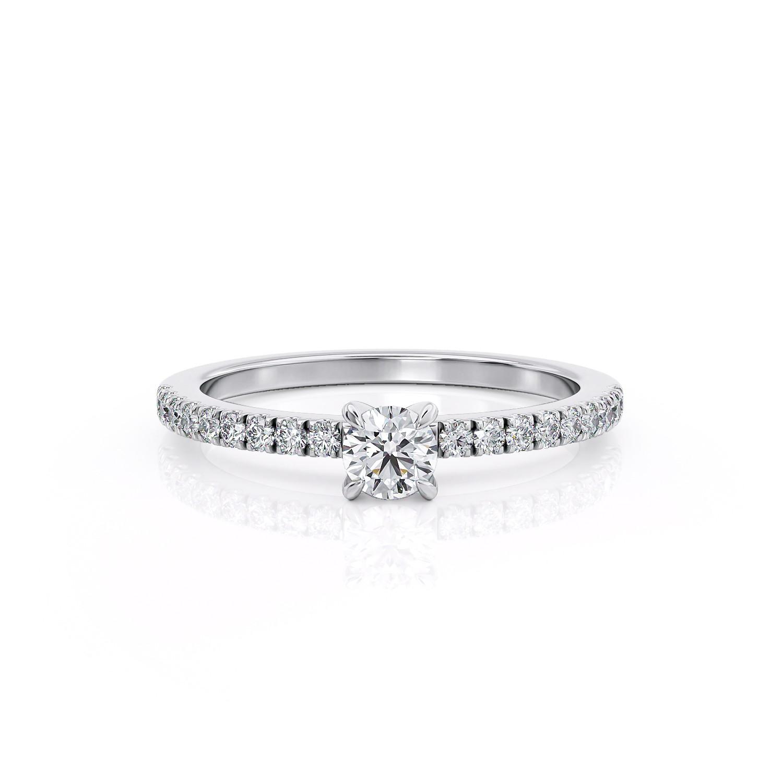 טבעת יהלום סוליטר | מליסה