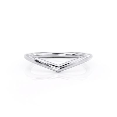 Curved Wedding ring