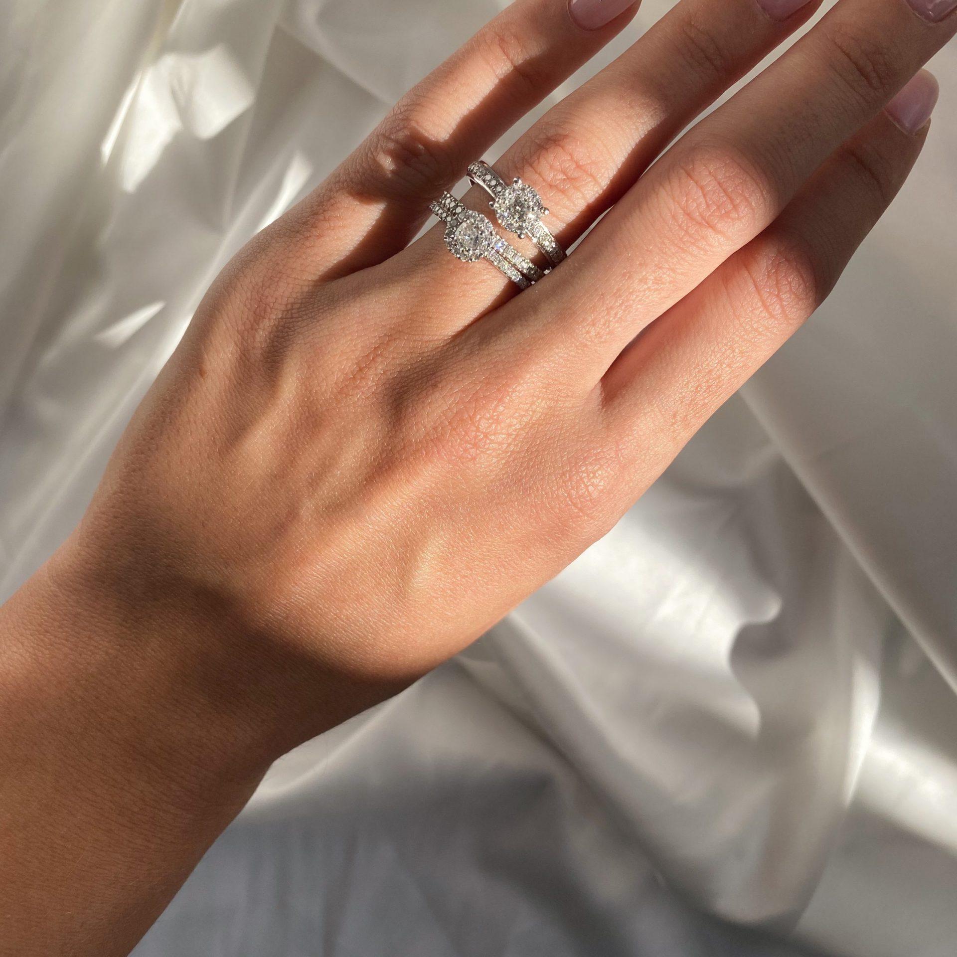 טבעת יהלומים איטרניטי