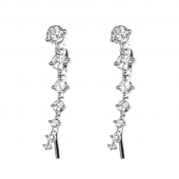 Diamond ear climber