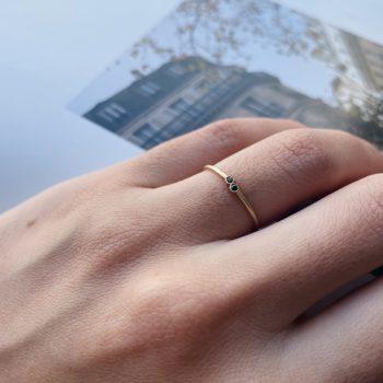 טבעת Mfalme mdogo | Black Diamond