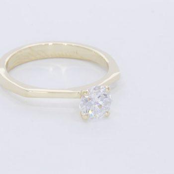 טבעת יהלום חווה