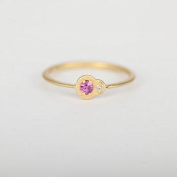 טבעת ספיר יהלום  | הוואי