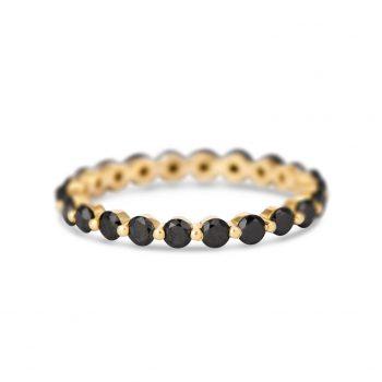 Eternity Ring | יהלומים שחורים