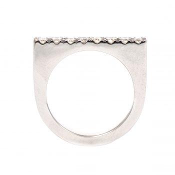 Pavé Diamonds | טבעת יהלומים שורה
