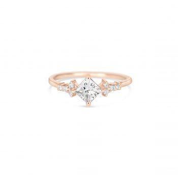 Princess Cut Diamond | טבעת אירוסין פרינס