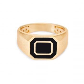 טבעת חותם אמייל