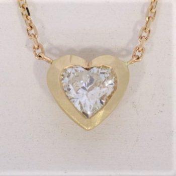 שרשרת יהלום | לב