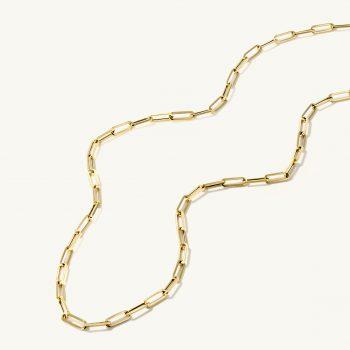 שרשרת זהב חוליות סיכה   New York