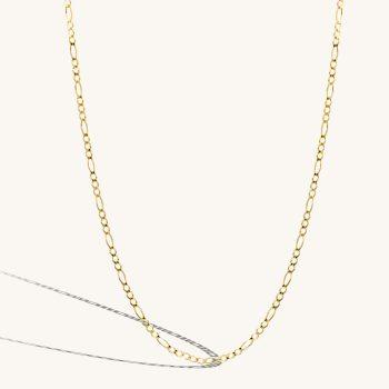 שרשרת זהב   Figaro