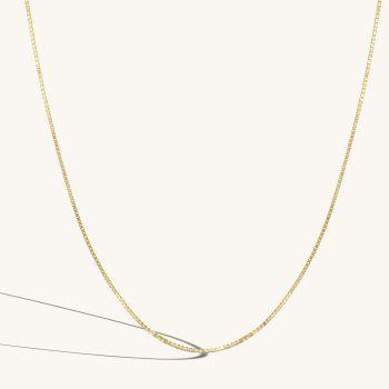 שרשרת זהב ונציה   BOX