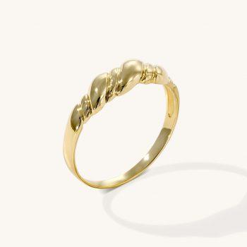 טבעת זהב   גל